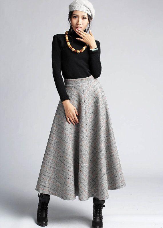 Style Files: Winter Skirts   Long skirt outfits, Fashion, Winter ski