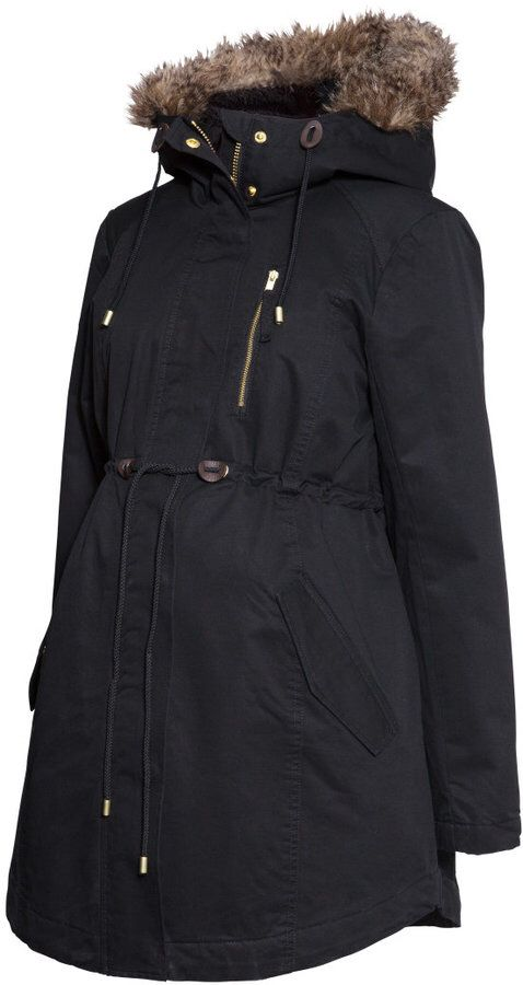 H&M maternity winter coat   Winter maternity outfits, Ladies .