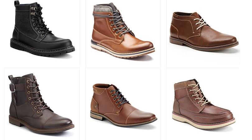 Kohl's Men's Boots Only $17.19 (Regular $89.9