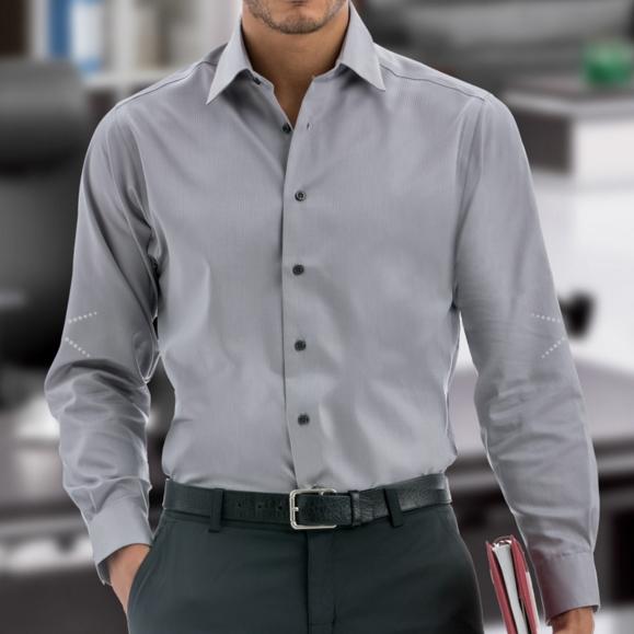 Men's CALVIN KLEIN Non-Iron Dobby Dress Shi