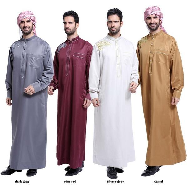 Muslim Apparel Arab Saudi Mens Clothes Islamic Robes Clothing For .