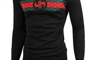Mens Designer Clothes | GUCCI Men's Crew Neck Knit Cotton Sweater .