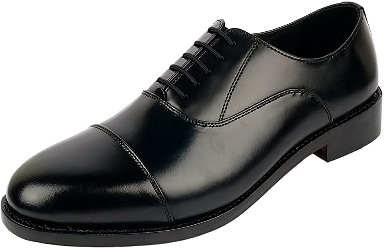Amazon.com   DLT Men's Genuine Imported Leather with Leather Sole .