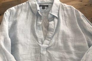 Banana Republic Tops | Mens Br Pull Over Linen Shirt | Poshma