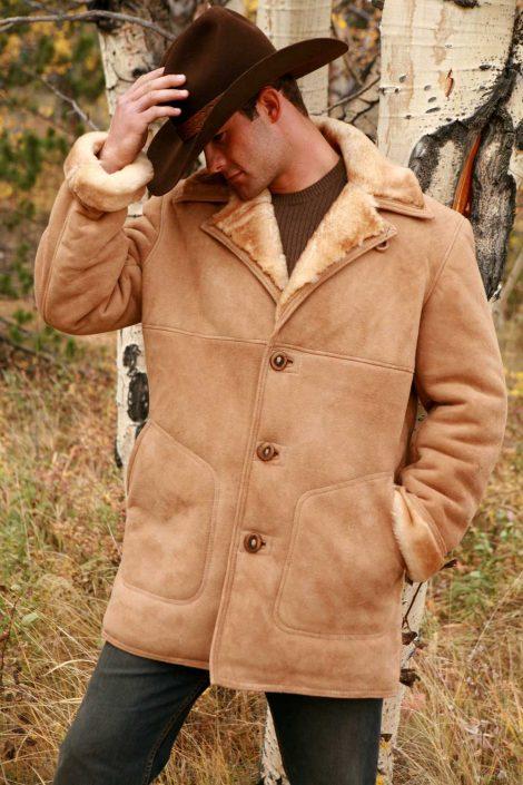 Sheepskin Coat for Men | Fine Shearling ApparelThe Sheepherd