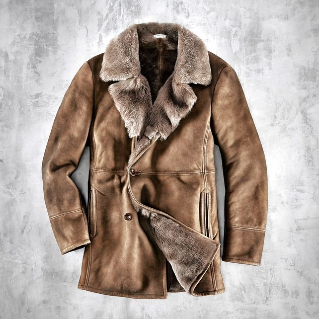 Why Men Should Invest in Shearling This Fall - W