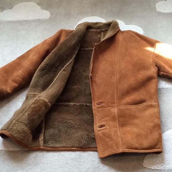 O'NED Jackets & Coats | Vintage Mens Shearling Coat | Poshma