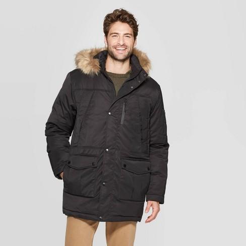 Men's Parka Winter Coat - Goodfellow & Co™ : Targ