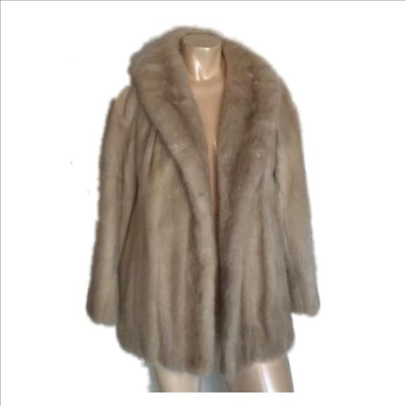 Willman's Furriers Jackets & Coats | Vintageblonde Mink Jacket .