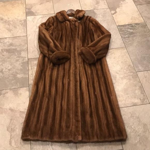 Bob Mackie Jackets & Coats | Full Length Mink Coat | Poshma