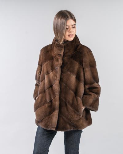 Mink Coat - 100% Real Mink Fur Coats | Haute Aco