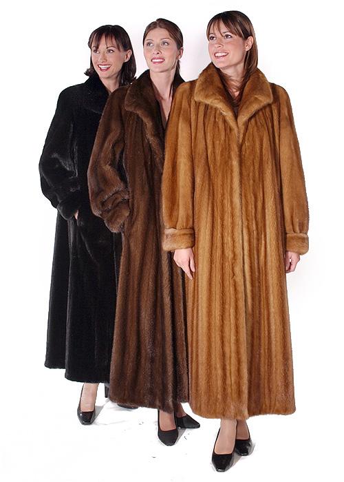 Mink Coat – Female Golden Classic Mink | Madison Avenue Mall Fu