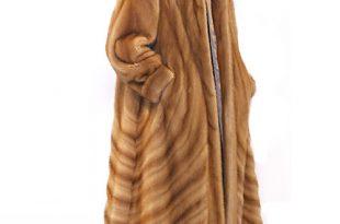 Mink Coat – Golden Dyed Directional | Madison Avenue Mall Fu