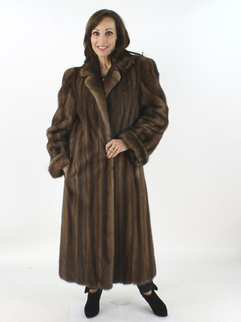 Natural Lunaraine Mink Coat for women at very low prices. Gently .