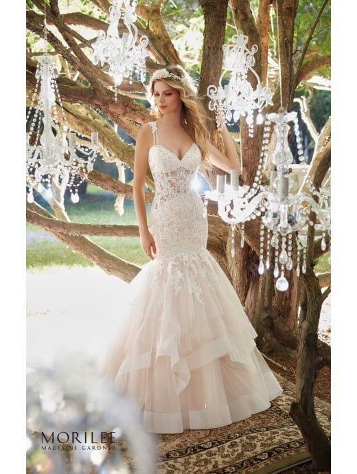 MORI LEE Mori Lee 8118 MARCIELA Glamourous Mermaid Bridal Gown .