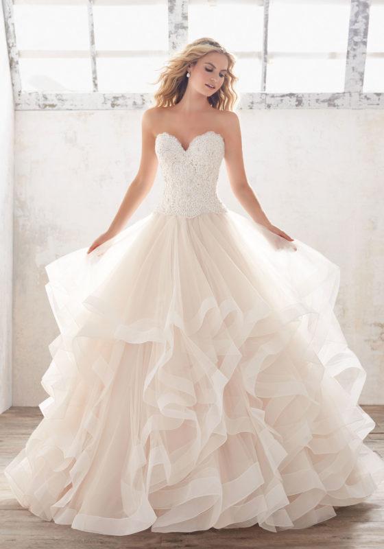 Marcia Wedding Dress - Morilee Fran