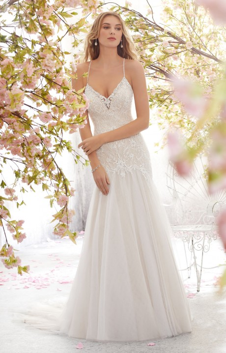Morilee Bridal 6895 Wedding Dress - Part of the Voyage collecti