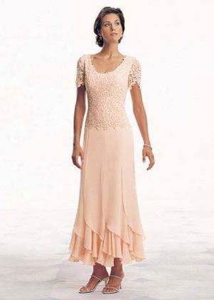 mother of the bride dresses tea length lace - Google Search   Long .