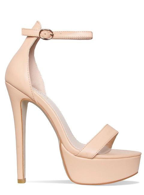 Selena Nude Platform Stiletto Heels from Simmi Shoes on 21 Butto