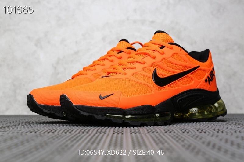 Men's running shoes Nike Air Max Tn in orange black .