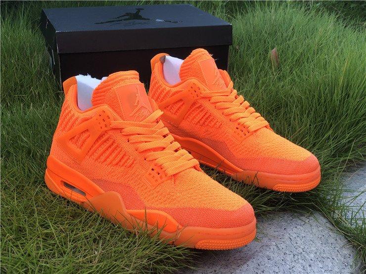 2019 Jordan 4 Flyknit Total Orange For Sa
