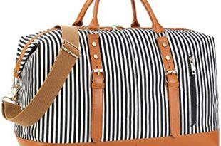 Amazon.com   CAMTOP Weekend Travel Bag Ladies Women Duffle Tote .