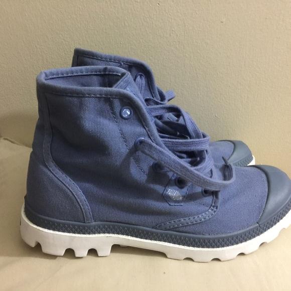 Palladium Shoes | Blue High Top Size 65 | Poshma