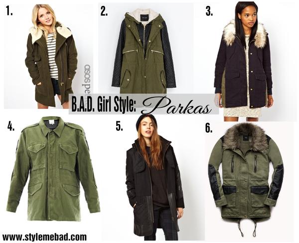 B.A.D. Girl Style: Parka Jackets & Coats | Style Me B.A.