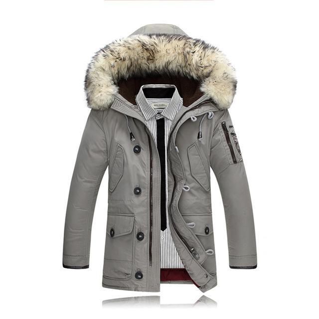 Men Duck Down Coats Winter Jackets Parkas Mens Down Jacket Rabbit .