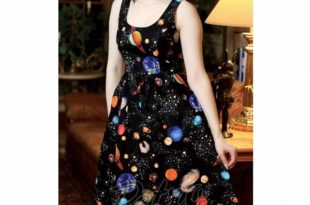 Retrolicious Dresses | Retro Out Of This World Ms Frizzle Planet .