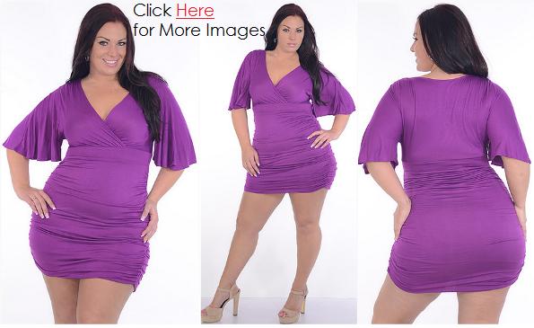 Club Dresses 2013 for Plus Size Women   www.PlusSizely.c