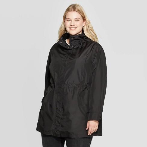 Women's Plus Size Rain Jacket - Ava & Viv™ : Targ