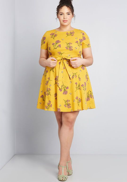 Airy Emphasis Mini Dress   Plus size mini dresses, Plus size short .