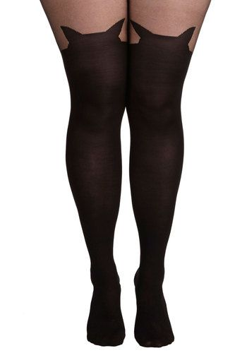 10 Plus Size Tights, Thigh Highs and Stockings for Fall | Plus .