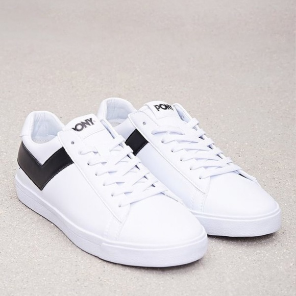 Pony Shoes   Classic Low Leather Sneakers   Poshma
