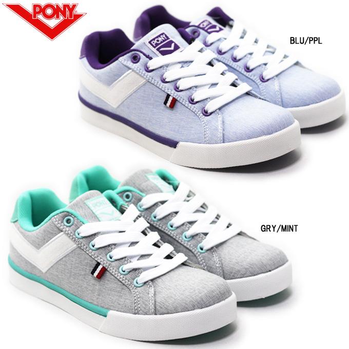 ishikiri: PONY pony PY-13890 Lady's sneakers casual low-frequency .