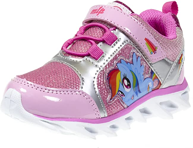 Amazon.com   My Little Pony Girl Toddler Light up Rainbow Dash .