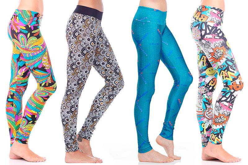 Printed Leggings: Decades of Inspiration - Evolve Fit Wear Blog .