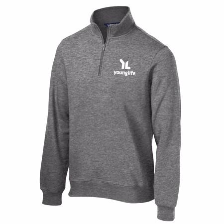 Men's Quarter Zip Sweatshirt ST2