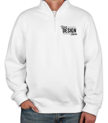 Custom Sport-Tek Premium Quarter Zip Sweatshirt - Design Quarter .
