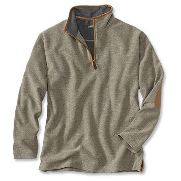 Quarter-Zip Tweed Sweatshirt - Orv