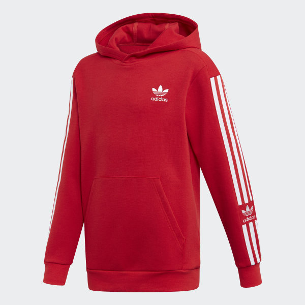 adidas New Icon Hoodie - Red   adidas