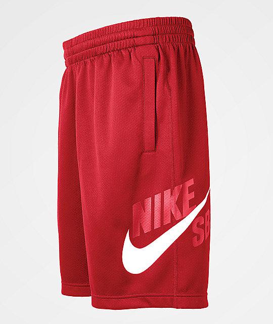 Nike SB Dri-Fit Sunday Red Shorts   Zumi