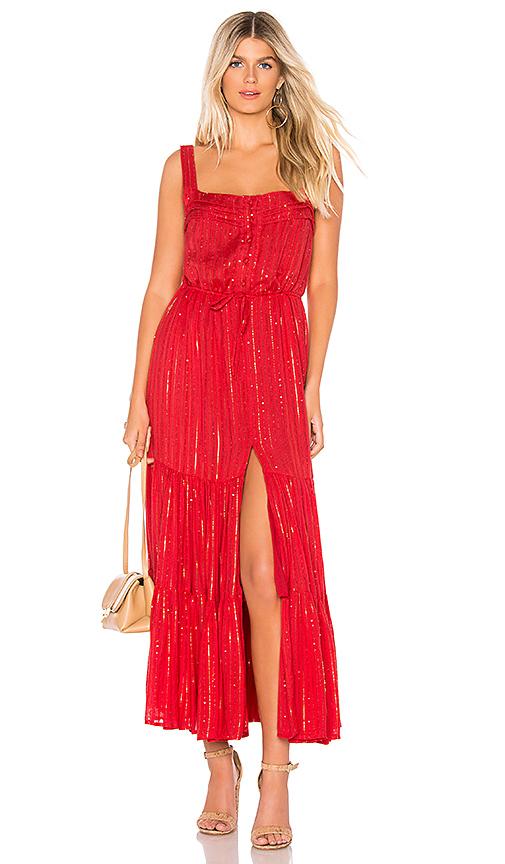 Sundress Lucia Dress in Roma Red | REVOL