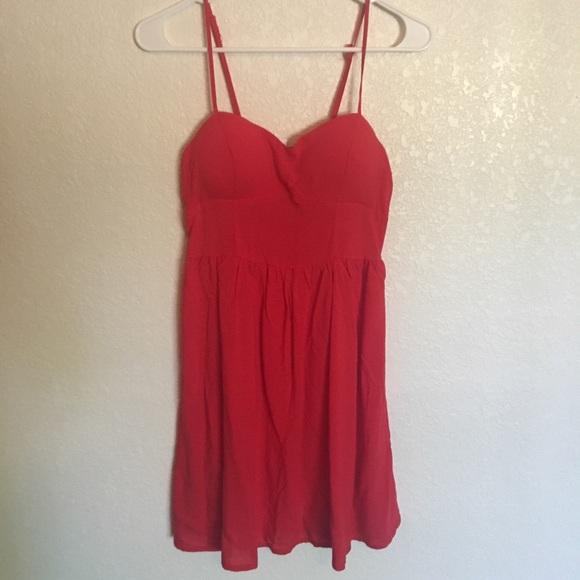 Rue21 Dresses | Red Sundress | Poshma