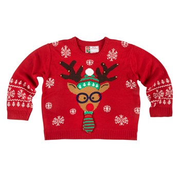 Nerdy Reindeer Ugly Sweater - Christmas Tree Shops and That .