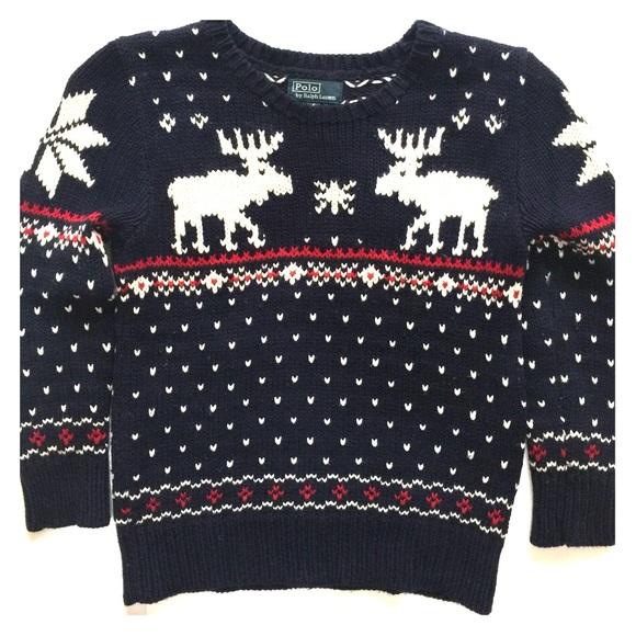 Ralph Lauren Shirts & Tops | Reindeer Sweater | Poshma