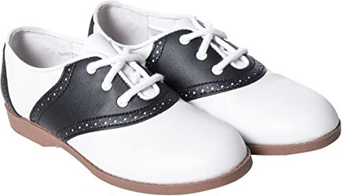 Amazon.com | Hip Hop 50s Shop Child Girls Saddle Oxford Shoes .