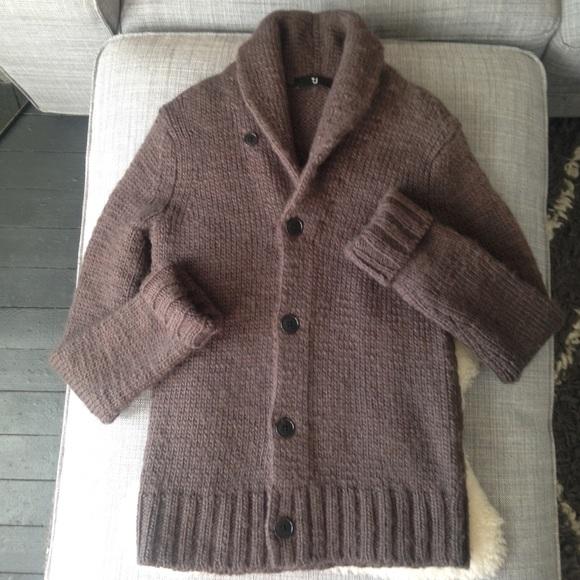 UNIQLO Sweaters   Reducedj X Wool Shawl Collar Cardigan   Poshma