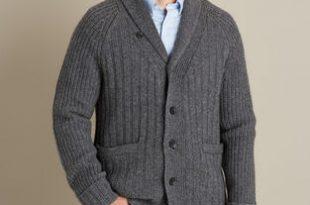 Men's Woolpaca Shawl Collar Cardigan | Duluth Trading Compa